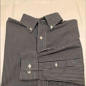 LANDS END Oxford button down  shirt